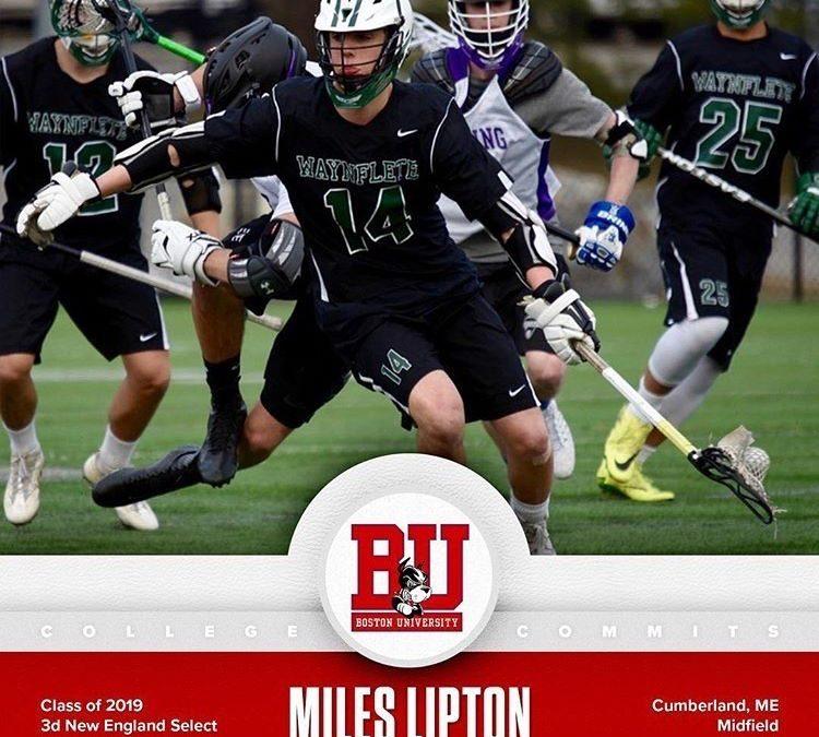 Patient Profile: Miles Lipton